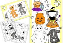 Halloween / Поделки, костюмы и маски на Хэллоуин своими руками