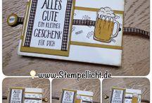 Karten Männer - cards for men