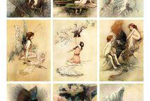 Printable / Illustrationer til udprintning