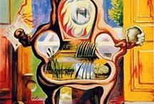 Andre Masson / French surrealist artist.
