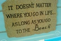 Beach Life / For our condo on New Smyrna Beach, Florida / by Linda Hudick