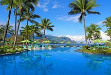 Best Pools in Hawaii / With 11 properties on 4 islands, it's no wonder Starwood Hotels & Resorts Hawaii boasts some of the best pools in the islands. These amazing pools are all just steps away from the ocean, leaving you with a tough decision: beach or pool.