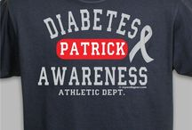 Diabetes - November / Diabetes Awareness Shirts and Walk Gear / by MyWalkGear