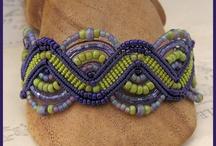 Macrame bracelets / by Pam Chalus