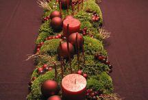 weihnachtlicher Tafelschmuck