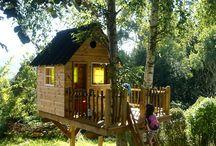 Træhuse/huse i træer/huse af træ