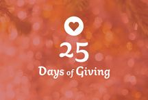 25 Days of Giving / We decided that for the next 25 days, we want you to know about the amazing work of 25 different nonprofit organizations that are within the network of The United State of Women to further the #Give5Challenge. Giving has taken a new shape; a new demand as we fight against the protection of rights we believe in so join the Give 5 family by committing to donate $5 or give 5 hours of your time to volunteering each month.