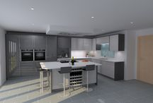 Complete Kitchens Ely / Examples of our rendering software that we use to create our stunning kitchens.