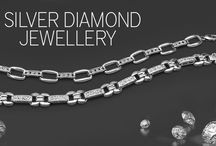 Silver Diamond Jewellery / Amazing collection of silver diamond jewellery