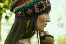 şapka motifli