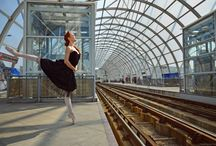 Urban Dance / Photos of dancers taken in unexpected places :)