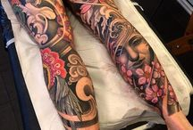 tatuajes hombres pierna