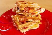 Pizza waffel