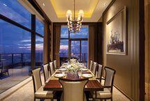 Interior Design ~ Dining rooms