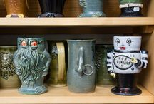 Mug Shots / My continuing obsession with handcrafted tea drinking vessels, and tea.