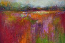 landschap abstract
