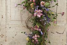 Blomster oppsats