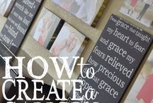 Decorating with Art / Ideas for decorating the home with art