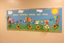 Catholic School Bulletin Boards / by Katie Gould-Welch