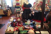 My craft fair displays / My set ups on all sorts of spaces