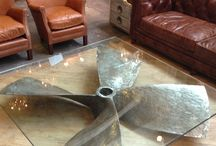 Living room table / Propeller table
