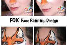 Designs de peinture de visage