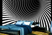 pared dormitorio