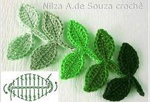 코바늘나뭇잎