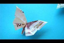 Banknotes folding