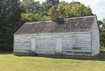The Slave and Tenant Quarters / Historic St Mary's City has recently received a grant from the Maryland Commission for African American History and Culture to convert this building into an interpretive exhibit.