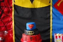 Superhero Party Ideas / Superhero party ideas for children and adults! From Superhero cakes to party decorations