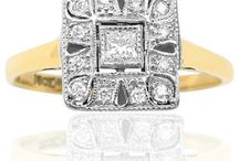 Antique Engagement rings / Fabulous Antique and Vintage rings