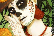 sugar skulls / by Billy Brown