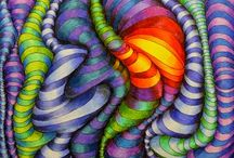 abstrakce z čar