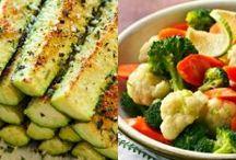 Zöldség ételek