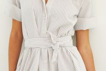 P R O J E C T | Loose shirtdress