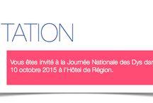 Journée nationale des dys dans le Rhône - 2015 / Le 10 octobre 2015 - Journée nationale des Dys dans le Rhône