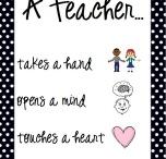 Education: Stuff for Teachers  / Classroom decor/organization and other teacher stuff