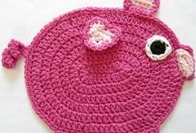 Free Crochet - Kitchen