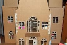 Cardboard Dollhouse Ideas / by Gina Jermasek