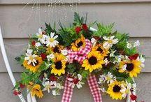 chuveiro decorados com flores