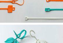 Clasps, ties & ribbons