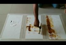 Painting demonstrations