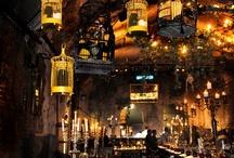 restaurant asian look/atmospheric