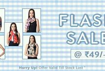 fash sale_have a look / www.fades.in is here with great offer starting at RS.49 what else can we ask for on a perfect sunday grab the scarfs at just Rs.49 before the stock last.