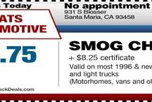 Smog check Santa Maria