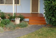Northmead Landscaping Decking Project / Blue Gum Decking 140mmx25mm Australian Hardwood