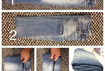 organización de jeans