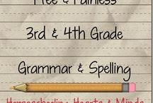 LA: Spelling and Vocabulary / by Ruthie Sheppard
