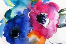 Art pieces [watercolours]